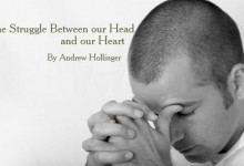 The Struggle Between our Head and Our Heart
