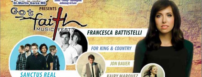 Francesca Battistelli Got Faith Concert Event