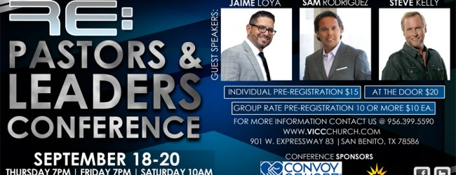 Pastors & Leaders Converence Valley Christian Magazine