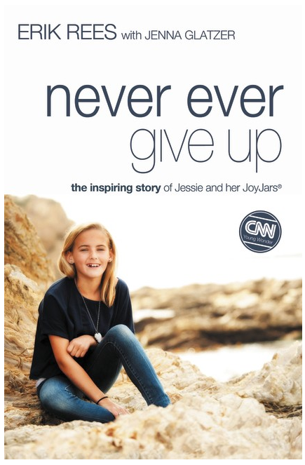 Image result for never ever give up book