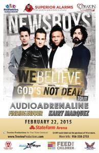 Newsboys Live in Concert Feb 22, 2014