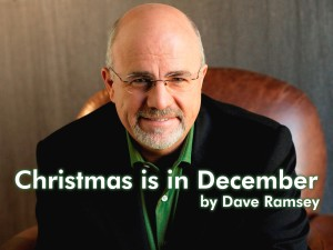 Dave Ramsey Christmas in December
