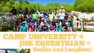 Camp University + JHK Equestrian